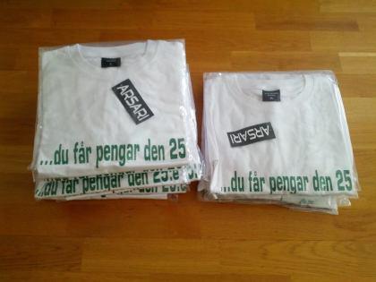 fettäktat-shirt